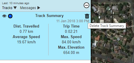 delete a recorded track from mapshare - inReach General
