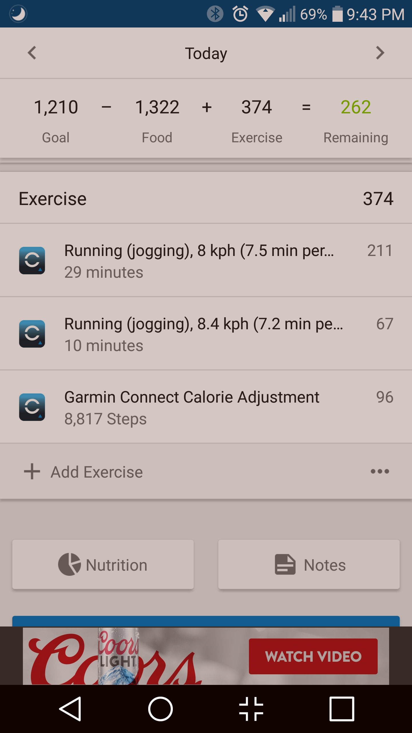 VA3 double counts calories? - vivoactive 3 Series - Health