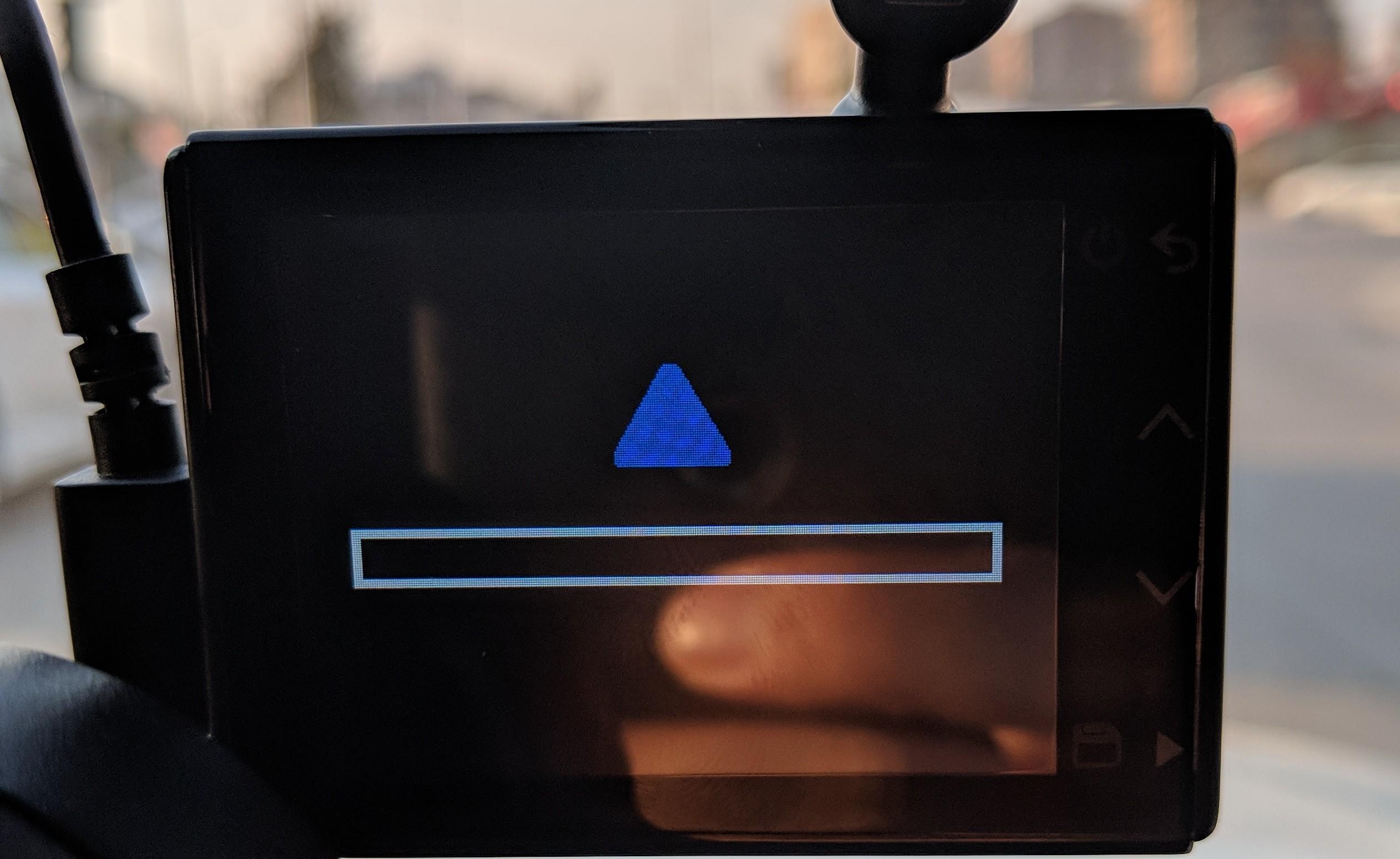 Garmin Dash Cam 55 Stuck after Update - Garmin Express