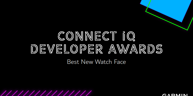 Connect IQ Developer Awards - Vote for Best New Watch Face