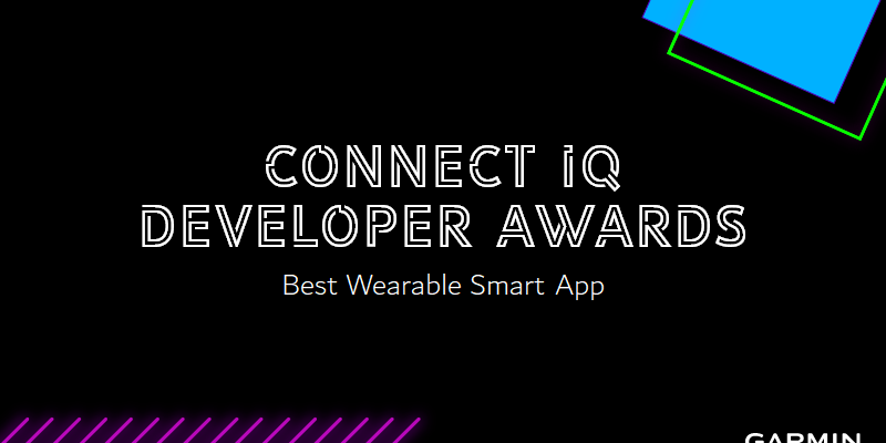 Connect IQ Developer Awards - Vote for Best Wearable Smart App