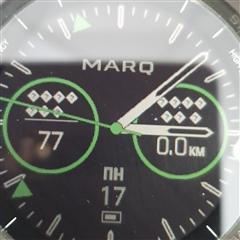 Marq Athlete Watch face font - MARQ series - Wearables