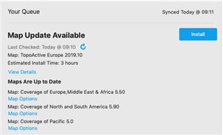 Maps Installation + Update - Forerunner 945 - Running/Multisport